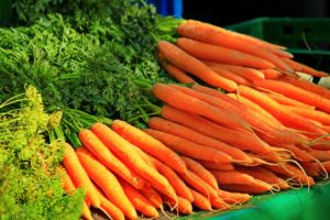 Carrots are packed with Vitamin A