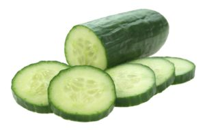 Cucumbers are fairly high in antioxidants