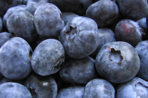 Blueberries are the most popular high antioxidant fruit