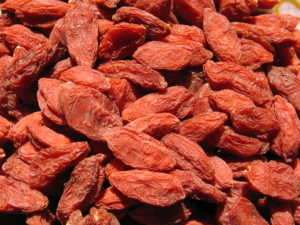 Goji Berries are gaining in popularity