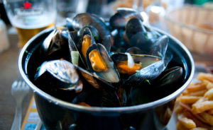 Mussels are another seafood that should be avoided
