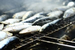 Sardines contain healthy omega 3 fatty acids yet they are also high in purine