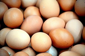 Eggs are an excellent protein source that won't raise your purine levels