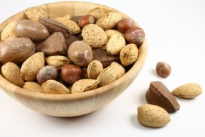 Nuts are a great snack for a low purine diet